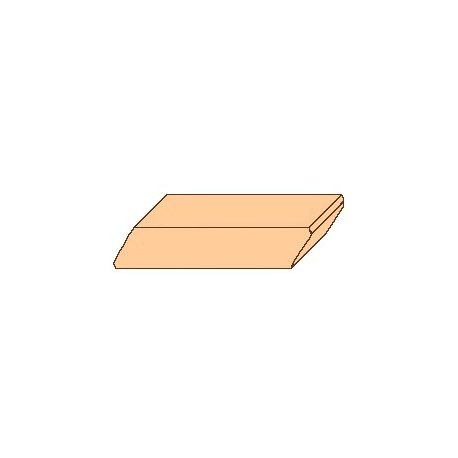 Palubky rhombus (19 mm x 95 mm)