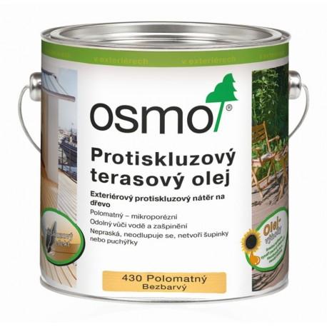 Protiskluzový terasový olej