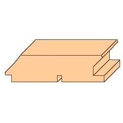 RHOMBUS SIBIŘSKÝ MODŘÍN A/B (25 mm x 95 mm)